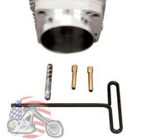 V-Factor Cylinder Base Gasket By Pass Tube Plug Pig Tail Evo Big Twin Sportster