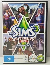 THE SIMS 3: UNIVERSITY LIFE EXPANSION PACK | PC/MAC DVD ROM | COMPLETE