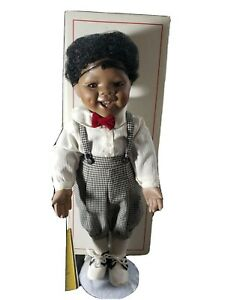 "Vintage, Doll, Georgetown's Collection, ""Michael""  African American Boy, 1992"