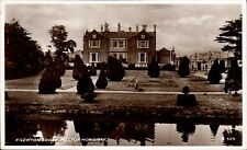 Egerton Lodge, Melton Mowbray # G 529 by Valentine's. Topiary.