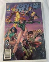 Gen 13 #1 Rare Newsstand Variant / Wizard Cover Award Winner!  MINT Image Comics
