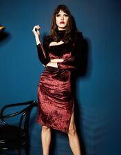 Agent Provocateur 'Ruth' Velvet Zip Dress - BNWT - RRP £395. Size 6