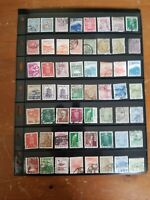 Japan Stamp Collection - Used - Many Classics - 2 Scans - W58