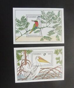 Gambia 1988 Flora And Fauna Birds Pelican MS769 MNH UM unmounted mint