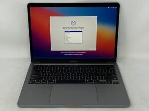 MacBook Pro 13 Space Gray 2020 3.2 GHz M1 8-Core GPU 8GB 256GB Excellent Cond.
