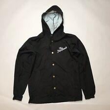Les centaines Hooded Coach Jacket Noir Petite Utilisé
