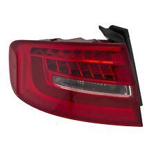 AUDI S4 SEDAN A4 WAGON 2013-2016 LEFT DRIVER LED TAILLIGHT TAIL LIGHT REAR LAMP