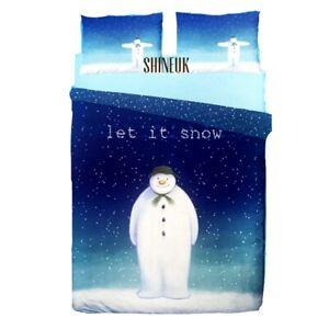 Disney Snowman And Dog Reversible Duvet cover Set Primark Ltd Edition Home Decor