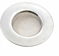 2 x Tala Stainless Steel Kitchen Sink Bath Basins Plug Hole Strainer Hair Trap