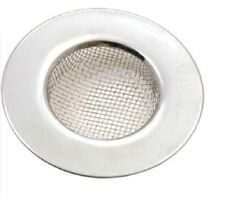 2 x Tala Stainless Steel Kitchen Sink Bath Basins Plug Hole Strainer Hair Trap