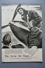 R&L Ex-Mag Vintage Advertisement: Irvin Air Chute Parachute