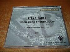 Steve Earle - Hard-Core Troubadour w/ live track perf. @ Prison; 2 tracks, PR