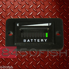 48 Volt Battery Indicator EZGO,ClubCar,Yamaha,Golf Cart, Solar, ATV, Boat.RECT