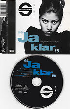 MAXI CD SINGLE 4T SCHWESTER S (SABRINA SETLUR) JA KLAR DE 1995 GERMANY