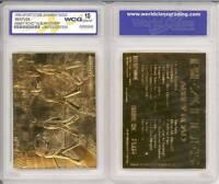 BEATLES ABBEY ROAD Album Cover 23KT Gold Card Sculpted Graded GEM MINT 10 *BOGO*
