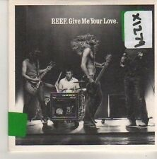 (CN350) Reef, Give Me Your Love - 2002 DJ CD