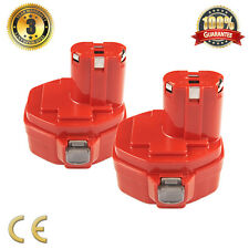 2 Battery For Makita 14.4V 1.3Ah Ni-Cd Heavyduty 1420 1422 1433 1434 PA14 6228D