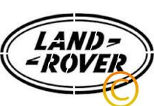 Land Rover Logo Stencil