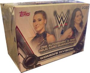 2020 TOPPS WWE WRESTLING WOMEN'S DIVISION HOBBY BOX - FACTORY SEALED