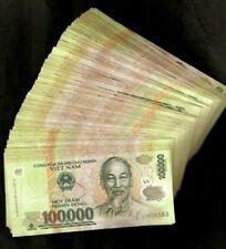 1,000,000 Vietnamese Dong Million VND ( 100000 x 10 Pcs ) Lot Vietnam Currency