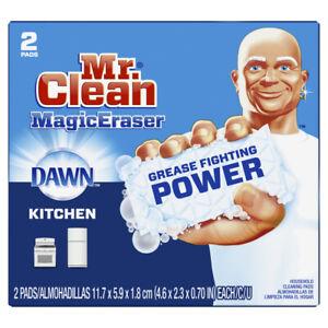 Mr. Clean Magic Eraser Dawn Non-Scratch Eraser Sponge For Kitchen 51097 2 Pack