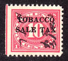 Scott Rj4 Tobacco 10c Sales Tax Revenue 1934 W/Guideline Fvf Used H1160B