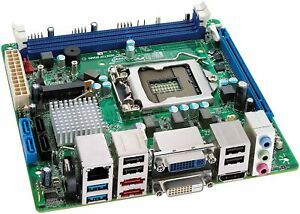 intel DQ67EP LGA1155  Motherboard with backplate and i5 2ND GEN PROCESSOR