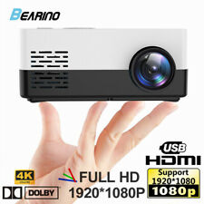 BEARINO LCD Mini Projector for TV Laptop iPhone Andriod Portable Home Theater
