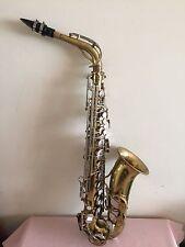 Vintage The Parisian Ambassador Saxophone ( Made In France)