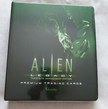 ALIEN LEGACY - ALIEN- ALIEN 3  TRADING CARD SETS+ BINDER + PROMO CARDS