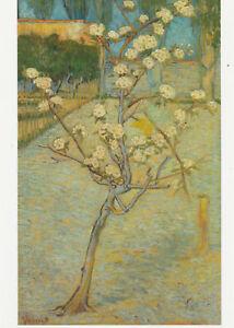 VINCENT VAN GOGH MUSEUM ART PRINT POSTCARD Small Pear Tree in Blossom