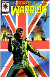 ETERNAL WARRIOR YEARBOOK #1 - DECEMBER 1993 - HIGH GRADE CLASSIC FROM VALIANT