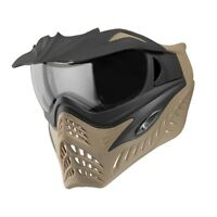 V-FORCE SF Grill Paintball Mask / Thermal Lens Goggle - Coyote - Charcoal on Tan