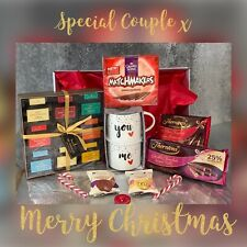 Couples Christmas Gift Hamper, Hot Chocolate, Parents Friends
