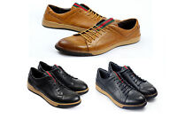 Mens Casual Lace Up Shoes Smart Formal Office Work Italian Fashion Dress UK JAS