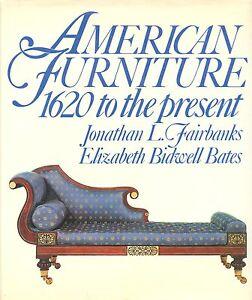 Antique American Furniture 1620-Present - Periods Makers Types Etc / Scarce Book