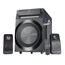 "Sykik SPP0298BT 2 1 Ch Bluetooth Speaker System 8"" Subwoofer FM Radio 210W NEW"
