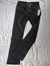 Miss Sixty Tom Jeans Grey Denim Stretch W27/L34 low waist slim fit bootcut leg