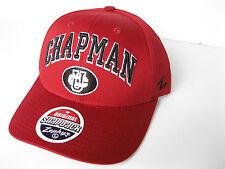 CHAPMAN UNIVERSITY PANTHERS RED NCAA VINTAGE SPORT SNAPBACK ZEPHYR CAP HAT NWT!