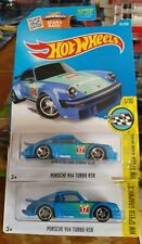 Hot Wheels 2 Cars New Falken Porsche 934 Turbo RSR 2016