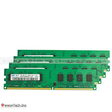 New Samsung 8GB 4x2GB PC2-6400 DDR2-800MHZ 240pin DIMM Desktop Memory For Intel