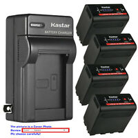 Kastar F980 Battery Wall Charger for Atomos NP-F970 Battery Atomos Shogun Flame