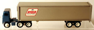 DTE OLD WINROSS  RTL RYDER TRUCK LINES TRACTOR TRAILER TRUCK W/METAL DOLLY