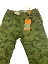 40WEFT - Pantaloni Uomo Jeans - M51 MIMETICI - Col. V893V - Solo 32 (it.46)