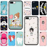 Cute Nurse Doctor Dentist Tooth Soft TPU Case for iphone 11 Pro Max XS XR X 8 7