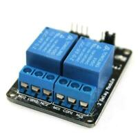 5V  2 Channel Relay Board Module for Raspberry Pi ARM AVR DSP PIC Sale Gift U0J6