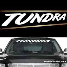 """Tundra Fun Cool Decal  Windshield Banner Vinyl Lettering 40"""""""