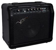 E-Gitarrenverstärker, Amplifer GW25M,Mikrofoneingang,Verzerrer,Kopfhörereingang