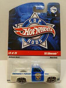 Hot Wheels Cop Rods '83 Silverado (Read description before reading)