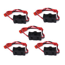 02050 Receiver ON OFF Switch Battery JST Plug 5pcs For 1/10 1/16 1/18 RC Car